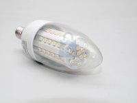 LED žárovka svíčka, barva světla teplá bílá, závit E14, svítivost 360 lumenů