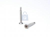 Šroub TEX nerez A2 DIN 7504P, samovrtný se zápustnou hlavou