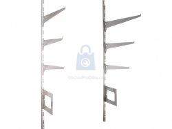 Systém regálový hobby (nosná konzola, držák police, koše, spojky)