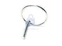 Kolík pojistný (Zákolník) DIN 11023, pozinkovaný