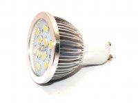 LED bodovka, barva světla teplá bílá, závit GU10, svítivost 500 lumenů
