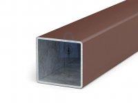 Sloupek plotový z jacklu 60x60 mm, ZN + PVC