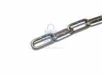 Řetěz dlouhý článek DIN 763/5685C, leštěný