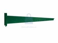 Bavolet pro brány a branky ZN+PVC, rovný