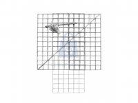 Koš trojúhelníkový gabionový SADA, aluzink