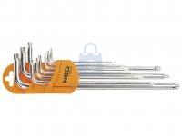 Sada magnetických klíčů, tvar L, NEO tools