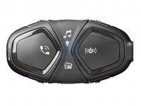 Bluetooth handsfree pro uzavřené a otevřené přilby CellularLine Interphone ACTIVE