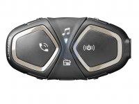 Bluetooth handsfree pro uzavřené a otevřené přilby CellularLine Interphone CONNECT