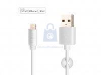 Datový a nabíjecí kabel FIXED s konektory USB/Lightning