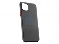 Zadní kryt Cellularline Elemento Black Onyx pro Apple iPhone