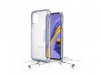 Zadní čirý kryt s ochranným rámečkem Cellularline Clear Duo pro Samsung