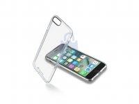 Zadní čirý kryt s ochranným rámečkem Cellularline Clear Duo pro Apple iPhone