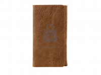 Kožené pouzdro FIXED Pocket Book pro Apple iPhone