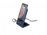 Skládací stojánek Cellularline Wireless Passport s bezdrátovým nabíjením, 10W