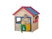 Domeček dřevěný zahradní, pro děti, Woody
