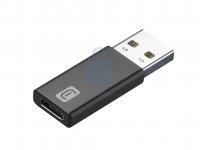 Adaptér Cellularline z USB na USB-C pro nabíjení i datový přenos