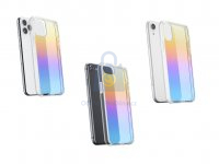Duhový kryt se zrcadlovým efektem Cellularline Prisma pro Apple iPhone