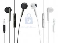 Pecková sluchátka FIXED EGG4 s mikrofonem a ovladačem hlasitosti, voděodolnost IPX3
