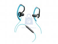 Sportovní in-ear stereo sluchátka CELLULARLINE SPORT JUMP s externím hákem, AQL® certifikace, 3,5 mm jack