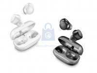 True wireless sluchátka Cellularline PETIT s dobíjecím pouzdrem