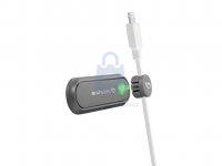 Magnetický držák kabelu Cellularline Cable Manager, 2 x magnetický klip