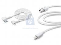 USB datový kabel CellularLine s konektorem Lightning, MFI