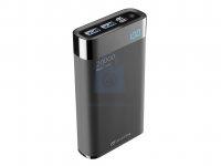 Kompaktní powerbanka Cellularline FreePower Manta HD 20000mAh, Smartphone Detect, USB-C + 2xUSB port
