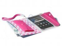 Voděodolné pouzdro s peněženkou Cellularline Voyager Pochette pro telefony do velikosti 5,2