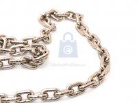 Řetěz z nerez oceli A4, DIN 766, krátký článek