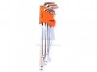 Sada imbusových klíčů magnet s kuličkou, CrV,  NEO tools