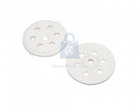 Hmoždinka talířová pro polystyrén MDB, bílá, nylonová, bez trnu