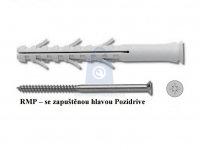 Hmoždinka rámová RMP s vrutem se zápustnou hlavou a křížovou drážkou