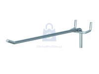 Hák jednoduchý pro euro-děrované stěny, pro rozteč děrování 30 mm