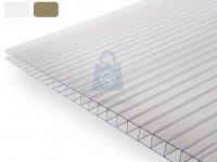 Deska střešní polykarbonátová komůrková, DUAL BOX 10,0 mm