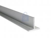 Profil T hliníkový, eloxovaný, EN AW 6060 (AlMgSi)