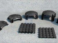Bednění ztracené z vysokohustotního polyethylenu, GUTTADRYTEK