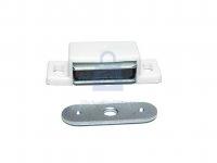 Sklapka dveřní magnetická, ocel + plast