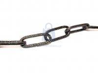 Řetěz ozdobný tepaný, povrchově upravený