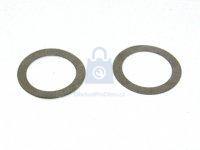 Podložka distanční vymezovací, DIN 988, tl. 2,0mm, bez úpravy