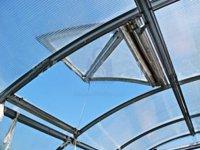 Okno větrací pro skleník Trjoska