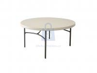 Stůl kulatý skládací 152 cm, výrobce LIFETIME