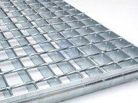 Rošt podlahový atyp SP 330-34/38, DIN 24537, žárově pozinkovaný