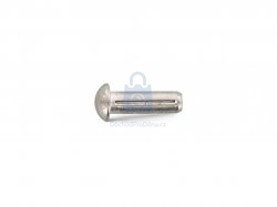 Hřeb rýhovaný s půlkulatou hlavou, DIN 1476, nerez A1