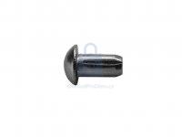 Hřeb rýhovaný s půlkulatou hlavou, DIN 1476, bez úpravy