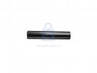 Kolík kuželový rýhovaný do poloviny délky, DIN 1472, bez úpravy