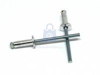 Nýt trhací slupkový, DIN 7337, hliník / ocel (Al / St)