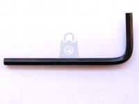Klíč 6HR imbusový, pevnostní 12.9, bez úpravy