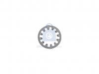 Podložka ozubená, DIN 6797I, forma I s vnitřním ozubením, pozinkovaná