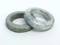 Podložka pro ocelové konstrukce lisovaná, forma A, DIN 7989A, žárově zinkovaná