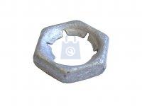 Matice pojistná šestihranná, DIN 7967, žárově zinkovaná